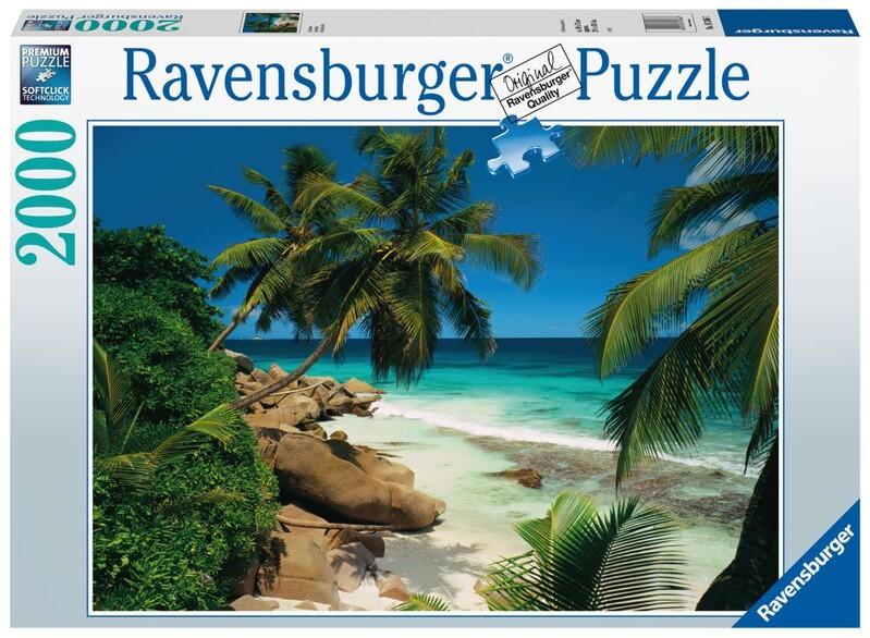 RAVENSBURGER - Seychely 2000 Dielikov