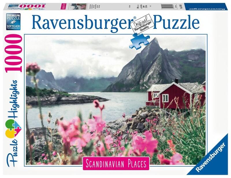 RAVENSBURGER - Škandinávia Lofoty, Nórsko 1000 Dielikov