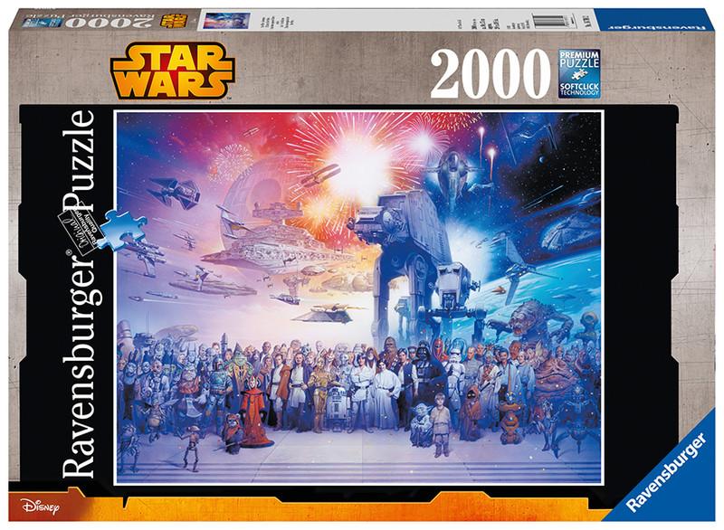 RAVENSBURGER - Star Wars vesmír 2000 dielikov