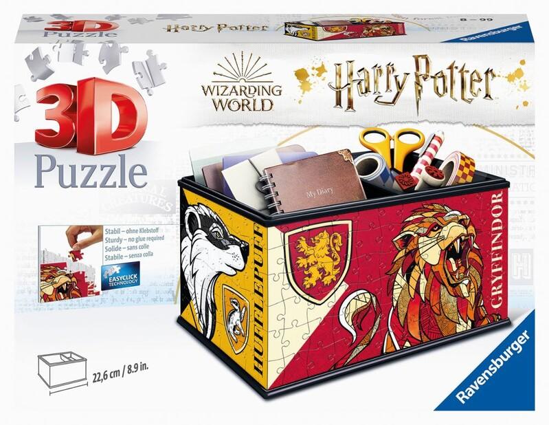RAVENSBURGER - Úložná Krabička Harry Potter 216 Dielikov
