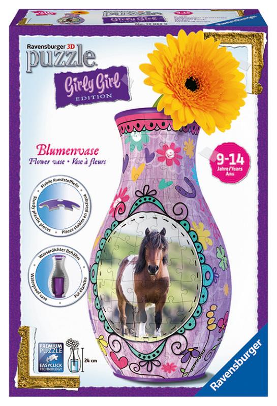 RAVENSBURGER - Váza Kôň 3D 216D