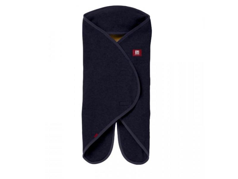 RED CASTLE - Babynomade Double Fleece námornícka modrý 0-6 m