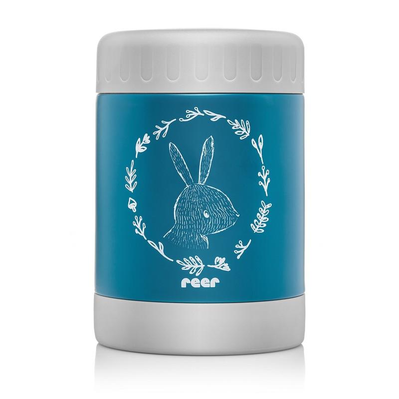 REER - Termoska 350 ml široká modrá ColourDesign