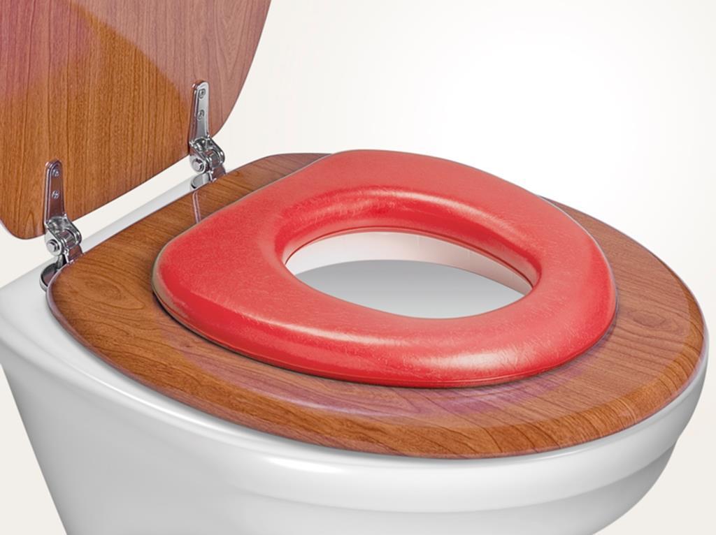 REER - WC redukcia soft, červená
