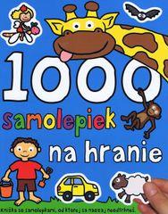 1000 samolepiek na hranie - autor neuvedený
