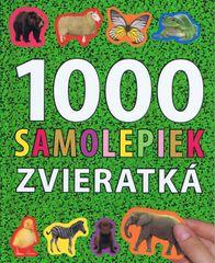 1000 samolepiek -  zvieratká - autor neuvedený