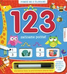 123 začíname počítať -  Kolektív autorov