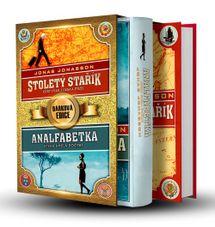 2x Jonasson BOX - Stoletý stařík + Analfabetka - Jonas Jonasson