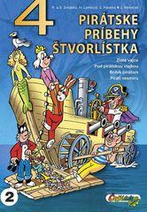 4 pirátske príbehy štvorlístka - Jaroslav Němeček , a kolektiv