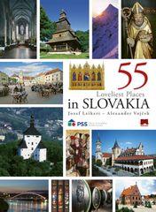 55 Loveliest Places in Slovakia, 2. vyd. - Jozef Leikert, Alexander Vojček