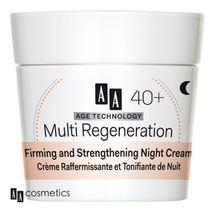 AA - Age Technology 40+ Spevňujúci a posilňujúci nočný krém 50ml