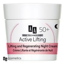 AA - Age Technology 50+ Liftingový a regeneračný nočný krém 50ml