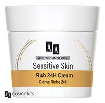 AA - Age Technology Sensitive Skin Mastný 24H krém normálna a suchá pleť 50ml