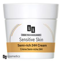AA - Age Technology Sensitive Skin Polomastný 24H krém normálna a suchá pleť 50ml