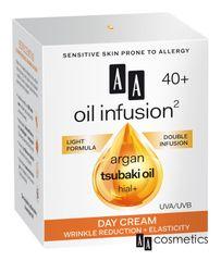 AA - Oil Infusion Denný spevňujúci krém 40+ 50ml