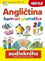 Angličtina barevná gramatika + CDmp3 - Pavlína Šamalíková