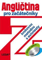 Angličtina pro začátečníky krokovou metodou s autotesty + 3 CD - 3.vydání