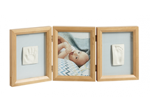 BABY ART - Rámček Double Print Frame Honey
