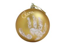 BABY ART - Vianočná guľa Christmas Ball Gold