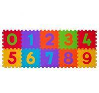BABY ONO - Puzzle penové čísla 30 x 30 cm