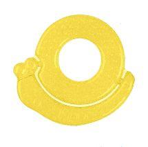 BABYONO - Hryzačka chladiaca slimák - žltá