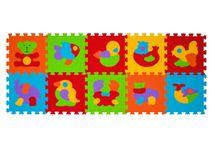 BABYONO - Puzzle penové zvieratá 10ks, 6m+