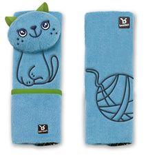 BENBAT - Chrániče na bezpečnostný pás, 2ks - mačka, 1-4r