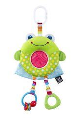 BENBAT - Hračka závesná Dazzle Friends žaba 0m+