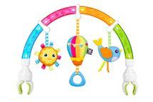 BENBAT - Hrazdička na autosedačku Dazzle Rainbow Play-Arch dúha