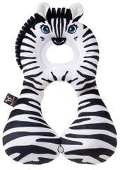 BENBAT - Nákrčník s opierkou hlavy 1-4 roky - zebra