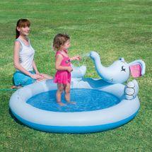 BESTWAY - detský nafukovací bazén s rozprašovačom Happy Elephant
