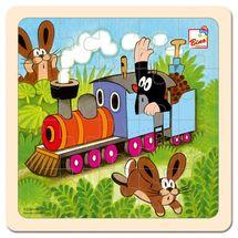 Bino - 13724 Puzzle Krtko a mašinka