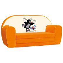 Bino - Mertens 13782 Minipohovka Krtko,oranžová