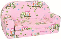 BINO - Mertens 53014 Minipohovka ružová sovičky