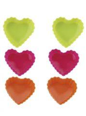 BLAUMANN - Forma silikónová srdce 6ks, BL-1267