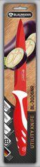 BLAUMANN - Nôž čepeľ 12,5 cm červený,BL-3006NR