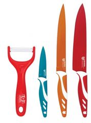 BLAUMANN - Sada keramických nožov 3ks+škrabka