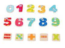 BOIKIDO - Magnetické čísla s matematickými znakmi (55ks)
