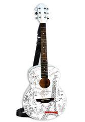 BONTEMPI - Klasická drevená gitara 85 cm s moderným dizajnom Paríž 238511
