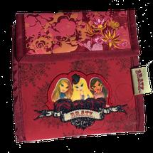 BRATZ - Detská peňaženka dievčenská, červená