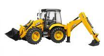 BRUDER - 02454 Traktor JCB 5CX s bagrom a nakladačom