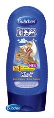 BÜBCHEN - Kids šampón a sprchovací gél 2v1 Ahoj námorník 230ml