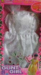 CASALLIA - Karnevalové oblečenie Biela princezna s doplnkami 2