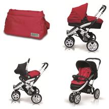 CASUALPLAY - Kočík S4, autosedačka Baby 0plus, vanička Metropol a Bag (2014)