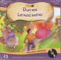 CD-Najkrajšie rozprávky 23- Dlhý nos,Lietajúci kaštieľ
