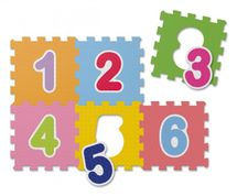 CHICCO - Penové puzzle Čísla 30x30cm 6ks