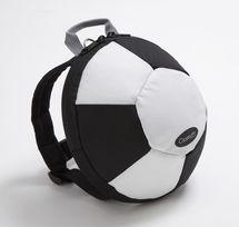 CLIPPASAFE - Detský batoh s odnímateľným vodítkom, Football
