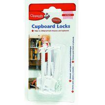 CLIPPASAFE - Poistka skriniek zásuviek 6 kusov