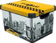 CURVER - Dekoratívny úložný box - L - NEW YORK