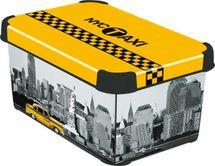 CURVER - Dekoratívny úložný box - S - NEW YORK